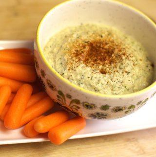 Raw Zucchini Hummus (Bean-free)