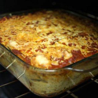 Eggplant & Goat Cheese Lasagna
