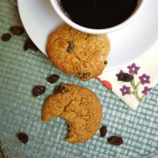 Cinnamon Raisin Cookies (Grain-free)