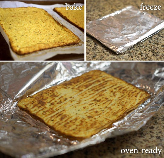 Frozen paleo pizza crust detoxinista