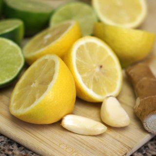 Refreshing Lemon-Lime Dressing (oil-free)