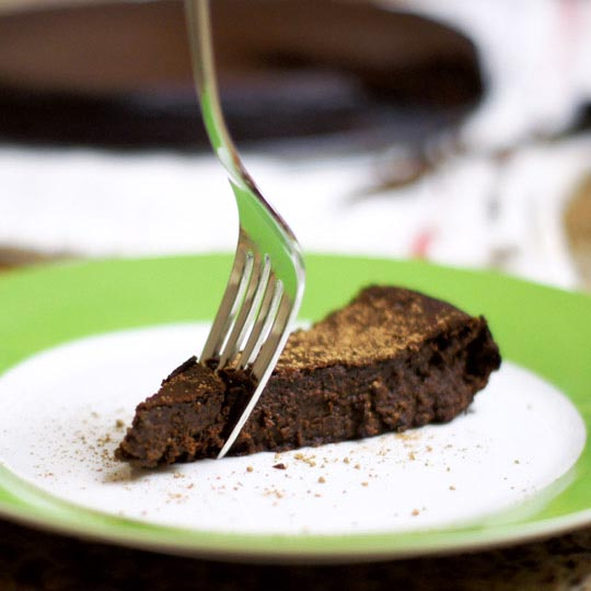 Chocolate cake recipe with honey instead of sugar