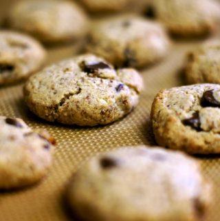 Paleo Chocolate Chip Cookies (Vegan)