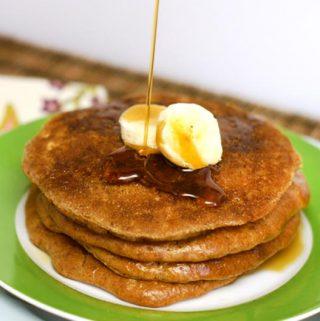 Almond Butter Pancakes (Grain-Free)