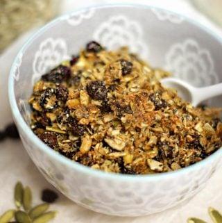 Pumpkin Seed Granola (Nut-free, Grain-free)