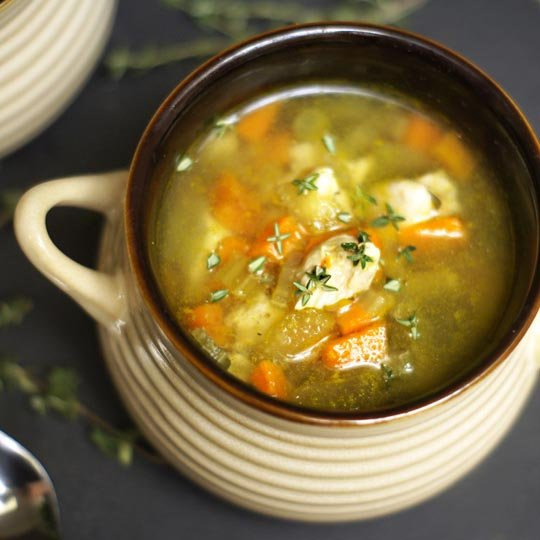 How To Cook Chicken And Vegetable Soup