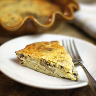 Mushroom & Gruyere Pie