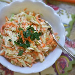 Creamy Coleslaw (Dairy-free)