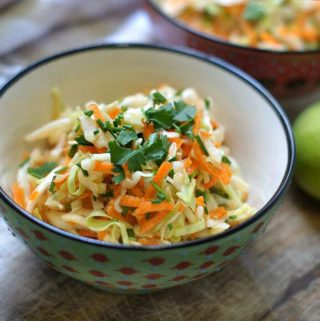 Sweet Sesame-Lime Cabbage Salad