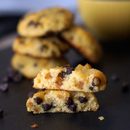 Chocolate Chip Muffin Top Cookies