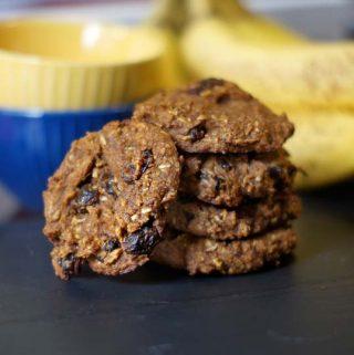 Harvest Breakfast Cookies (Vegan, Paleo)