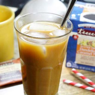 "Maple Iced ""Latte"""
