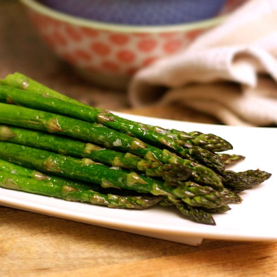 know, I know. Asparagus doesn't sound that exciting.