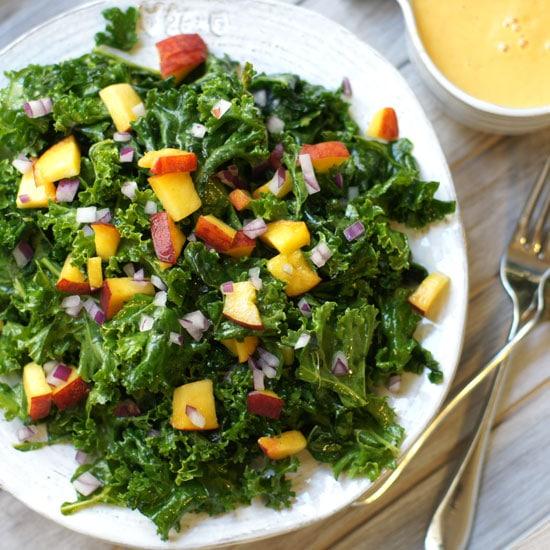 overhead-peach-salad