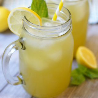 Fresh Basil Lemonade