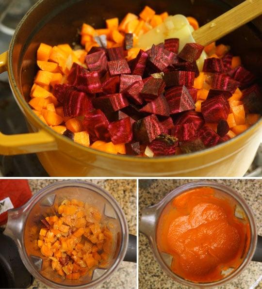 carrot-marinara
