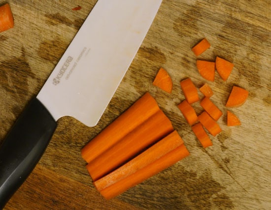 how to cut carrots into shapes
