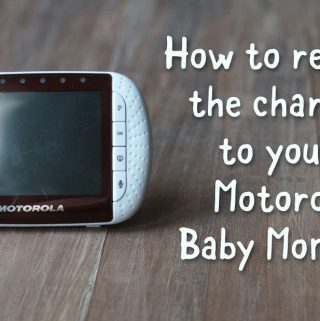 How to Replace the Charger for a Motorola Baby Monitor MBP36