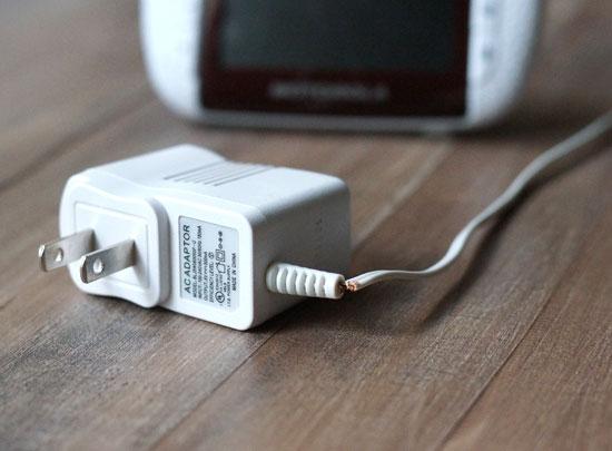 motorolla baby monitor charger