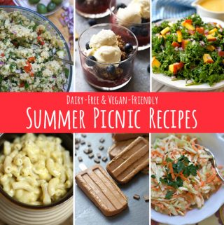 10 Dairy-Free Picnic Recipes