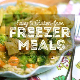 Easy Vegetarian Freezer Meals