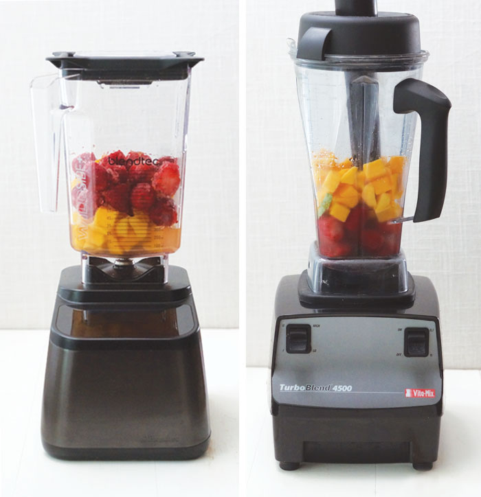 two different blenders