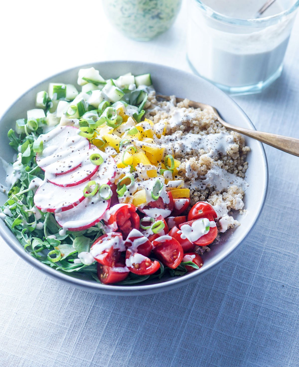 Make-Ahead Vegan Lunch Bowls