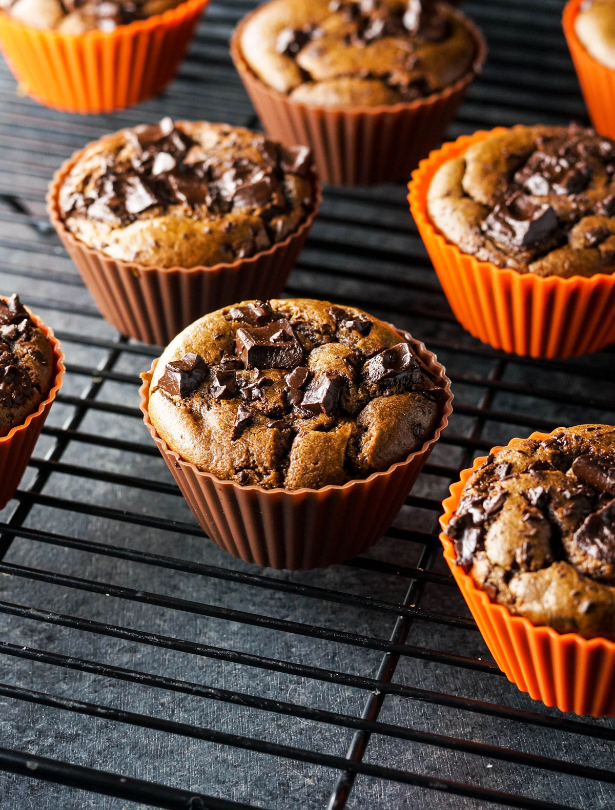 double-chocolate-pumpkin-muffins