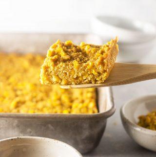 Vegan Corn Casserole