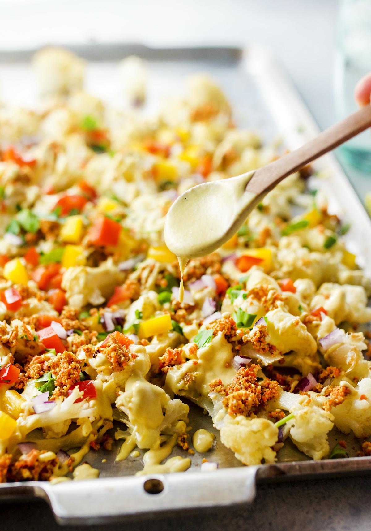 best cauliflower nachos