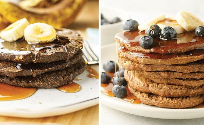 store bought buckwheat versus ground buckwheat pancakes