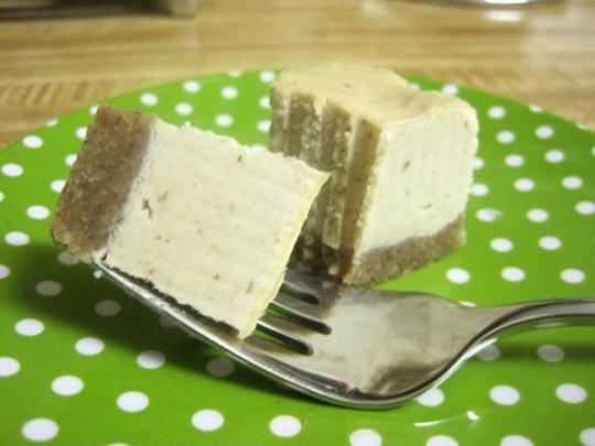 cheesecake with Raw Graham Cracker Crust