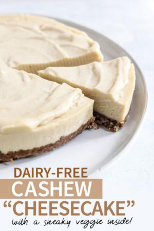 cashew cheesecake pin