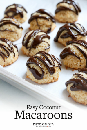 coconut macaroon pin for pinterest