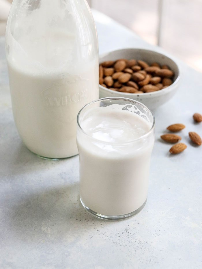 Image result for Almond milk