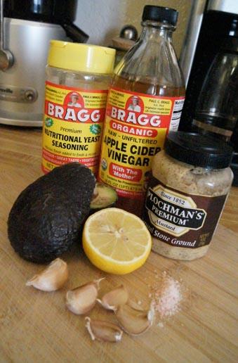 raw caesar dressing ingredients