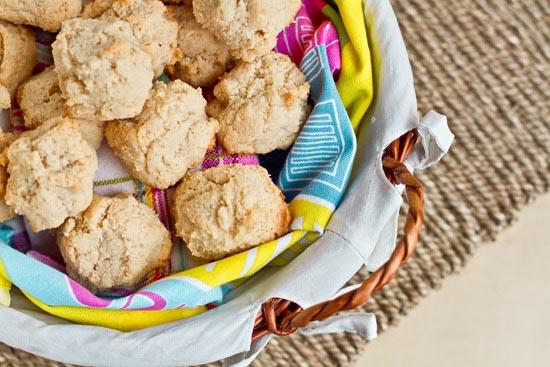 basket of detox macaroons