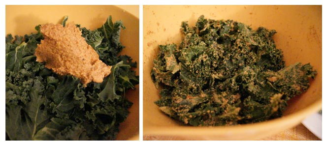 """""""cheeze"""" sauce with kale"""