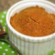 detox carrot cake in ramekin