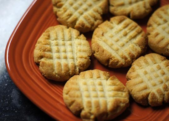 grain free cookies on a plate