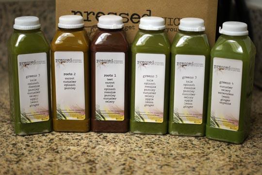 Pressed Juicery Bottles