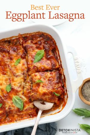 eggplant lasagna pin