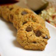 Grain free oatmeal chocolate chip cookies
