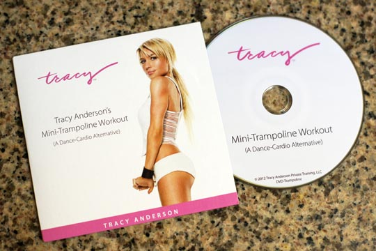 tracy anderson's dvd