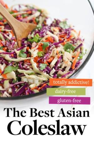 asian coleslaw pin for pinterest