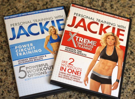 personal training with jackie dvds