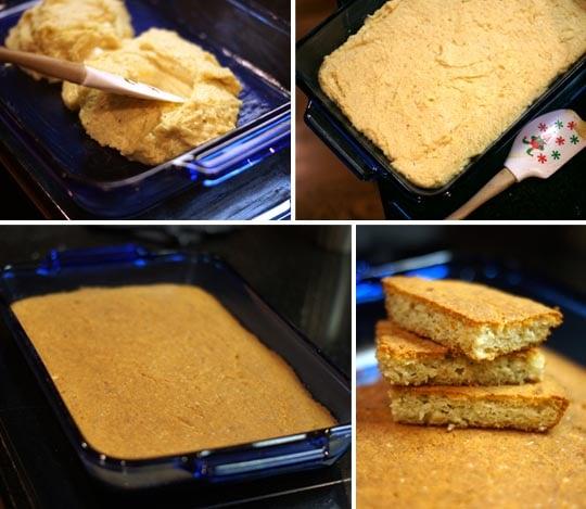 baked grain free focaccia