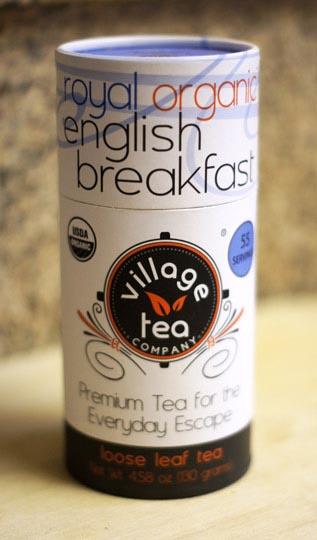 package of vanilla tea