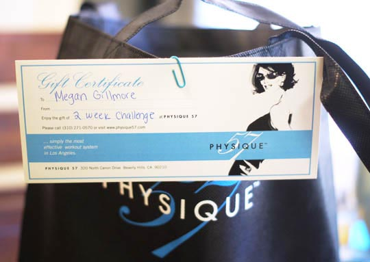 physique 57 gift card