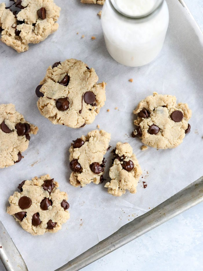 Paleo Chocolate Chip Cookies Egg Free Detoxinista